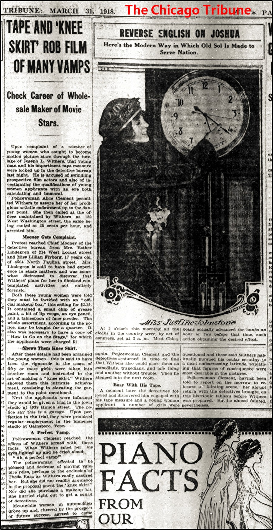 The Chicago Tribune 1918-03-31