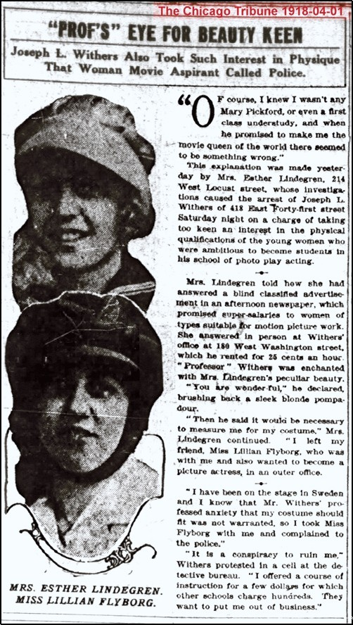The Chicago Tribune 1918-04-01
